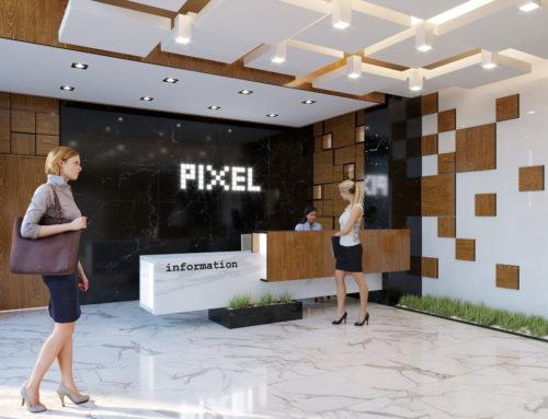 Лобби бизнес центра «PIXEL» Тбилиси